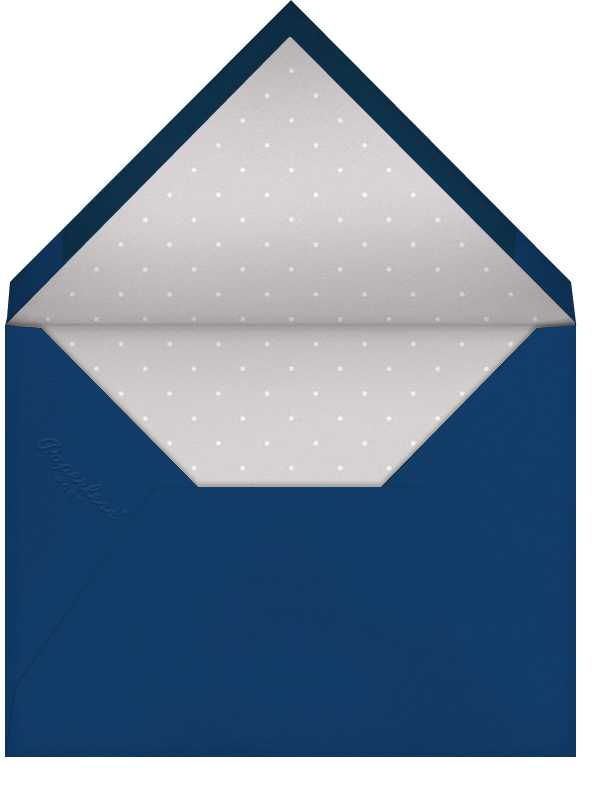 Marrakesh - Dark Blue - Paperless Post - Charity and fundraiser  - envelope back