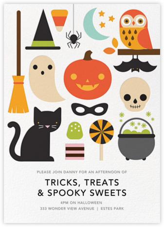 Halloween Parade - Petit Collage