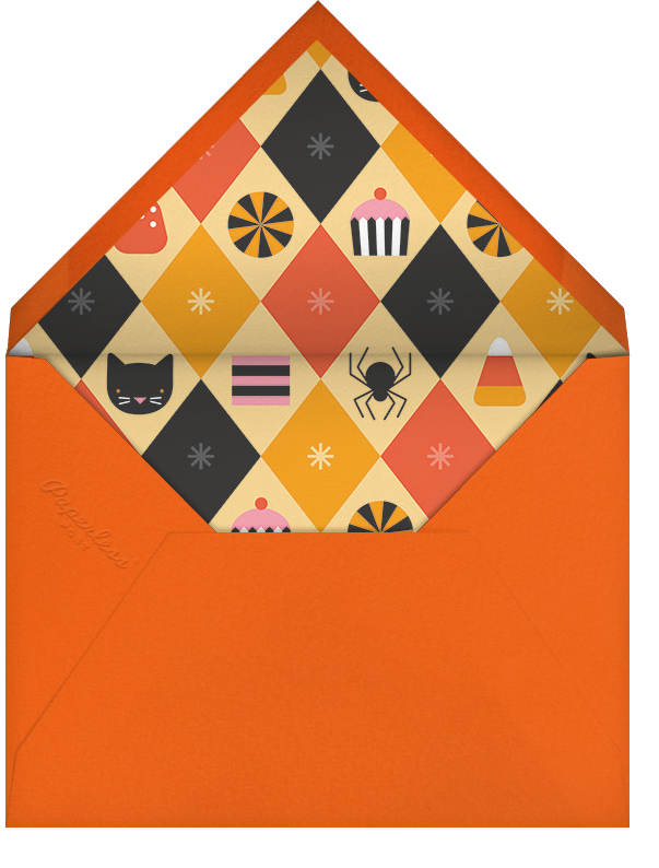 Paws and Potions - Petit Collage - Halloween - envelope back