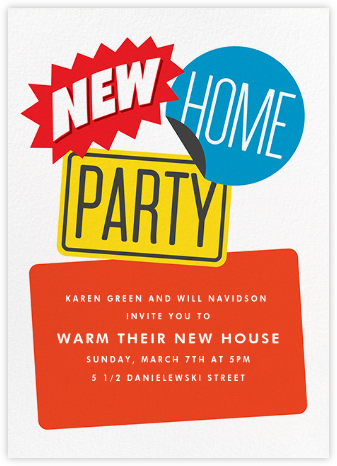 New and Improved - Paperless Post - Housewarming party invitations
