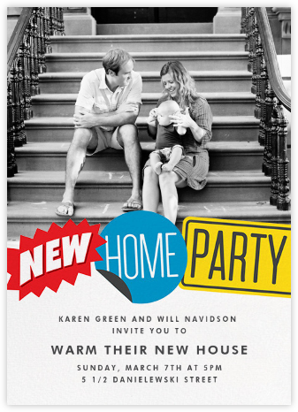 New and Improved (Photo) - Paperless Post - Housewarming party invitations