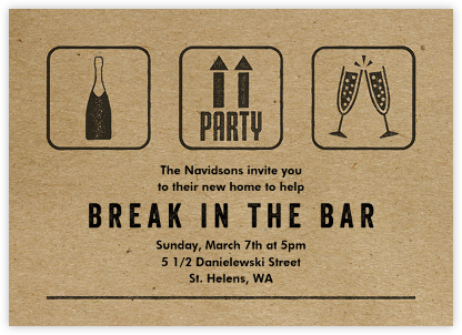 Pack Up and Party - Paperless Post - Housewarming party invitations