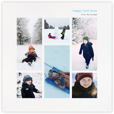 New Year Digest (Square) - Paperless Post -