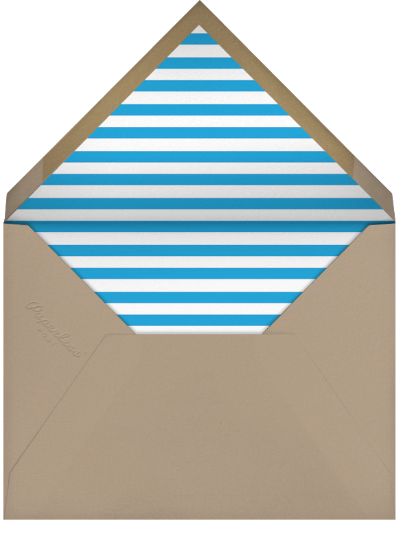 Minimalist New Year (Square) - Paperless Post - New Year - envelope back