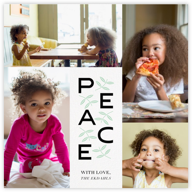 Leaves of Peace (Square) - Paperless Post -