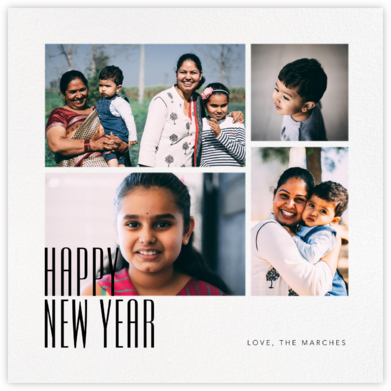 New Year Gallery (Square) - Paperless Post -