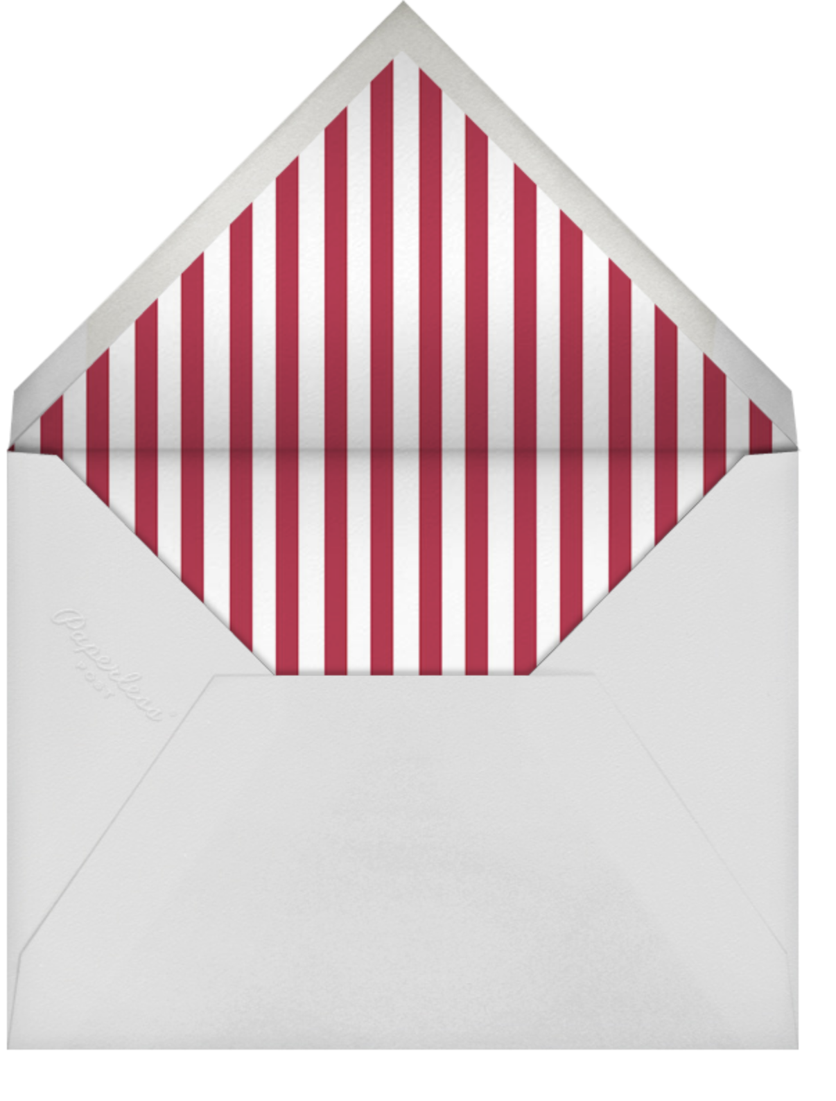 Avant-Garde Holiday (Tall) - Gold - Paperless Post - Holiday Favorites - envelope back