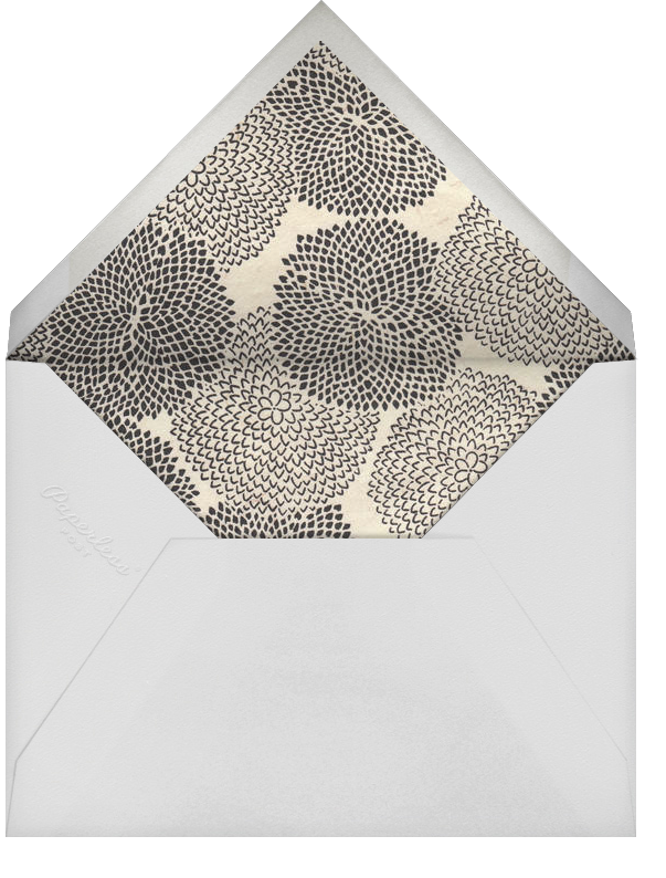 Two of a Kind - Paperless Post - Engagement party - envelope back