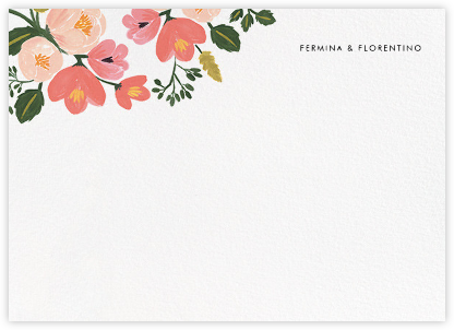 Pastel Petals (Stationery) - Rifle Paper Co. - Personalized stationery