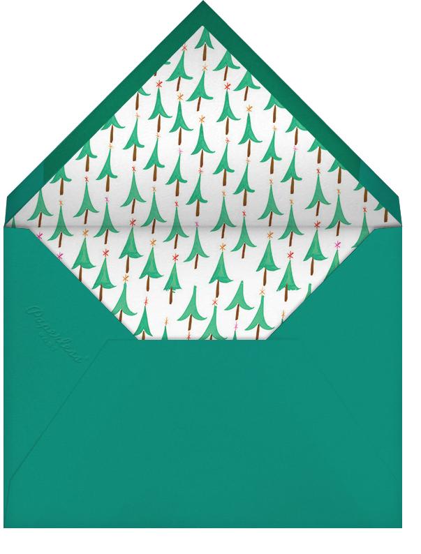 Glittery Tree in the Christmas Forest (Photo) - Mr. Boddington's Studio - Christmas - envelope back