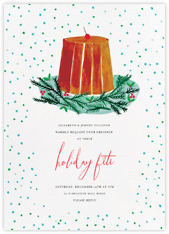 Just Desserts (Invitation) - Mr. Boddington's Studio - Holiday invitations