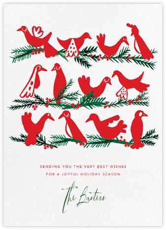 Peace Birds - Mr. Boddington's Studio - Holiday Cards