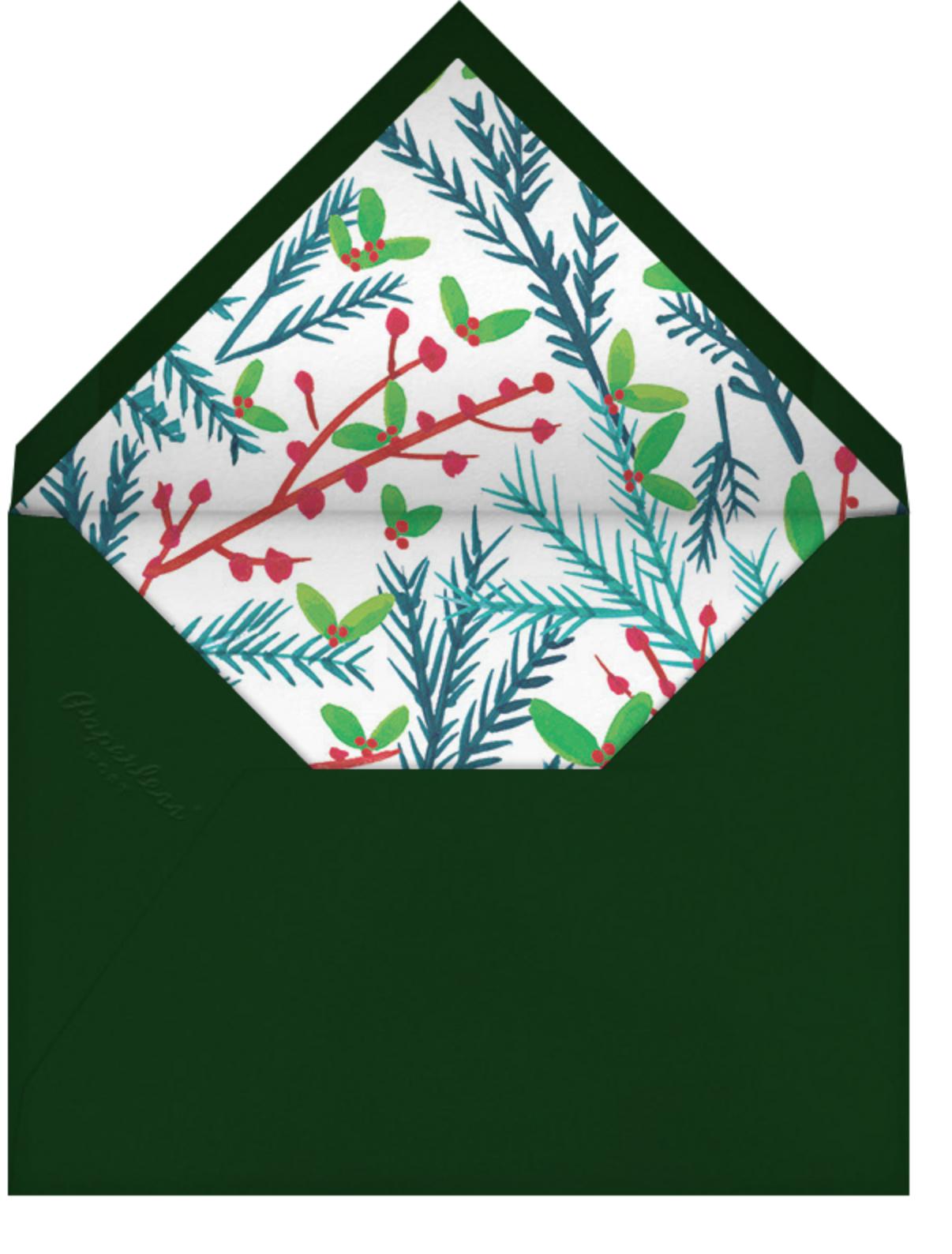 Tis the Season to Be Holly (Multi-Photo) - Mr. Boddington's Studio - Christmas - envelope back