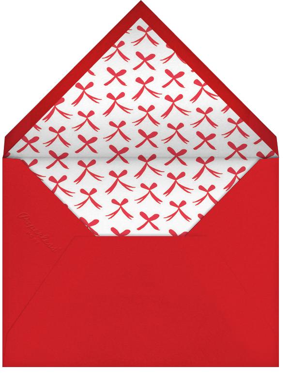 With Bells On (Invitation) - Mr. Boddington's Studio - New Year's Eve - envelope back