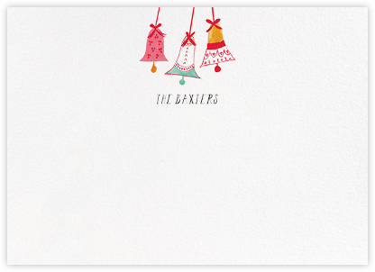 With Bells On (Stationery) - Mr. Boddington's Studio -