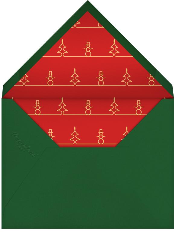 Wonderful Christmastime - Paperless Post - Christmas - envelope back