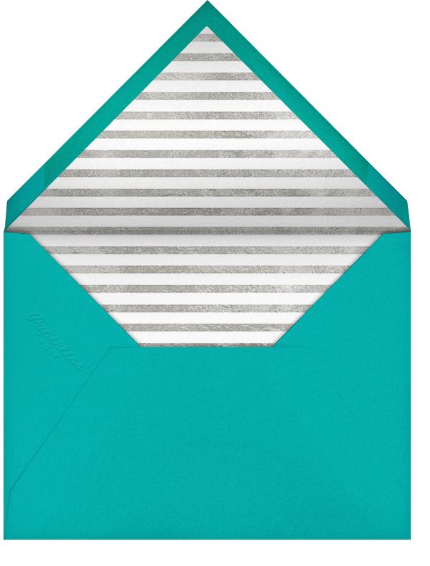 Streamer Shapes (Inset) - White/Silver - Paperless Post - Kids' birthday - envelope back