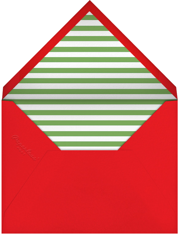 Elven Fun - Paperless Post - Holiday cards - envelope back