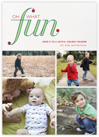Elven Fun (Multi-Photo) - Paperless Post - Holiday Cards