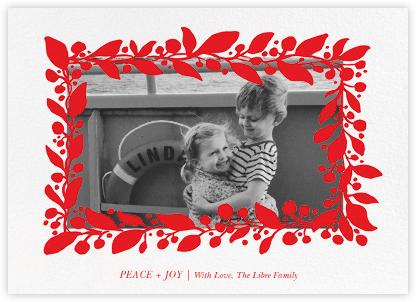 Hedera (Photo) - Red - Linda and Harriett -