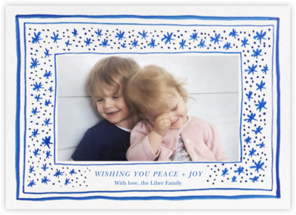 Starscape - Linda and Harriett - Photo Christmas Cards