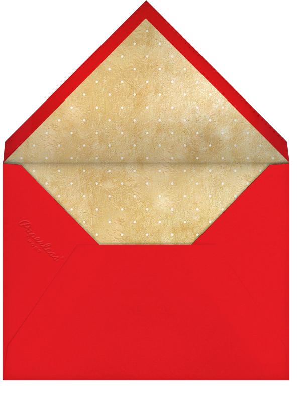 Sleigh Bell Flourish (Multi-Photo) - Paperless Post - Envelope