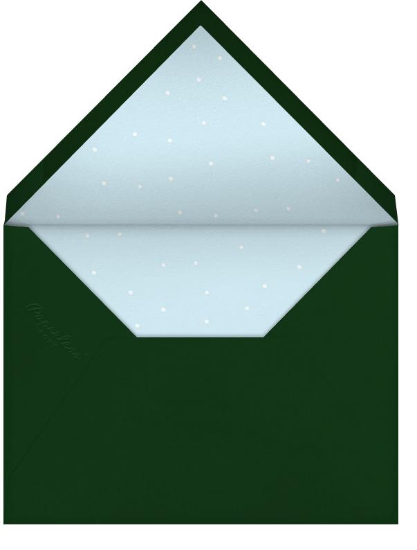 Christmas Snowdrift (Tall) - Paperless Post - Christmas - envelope back