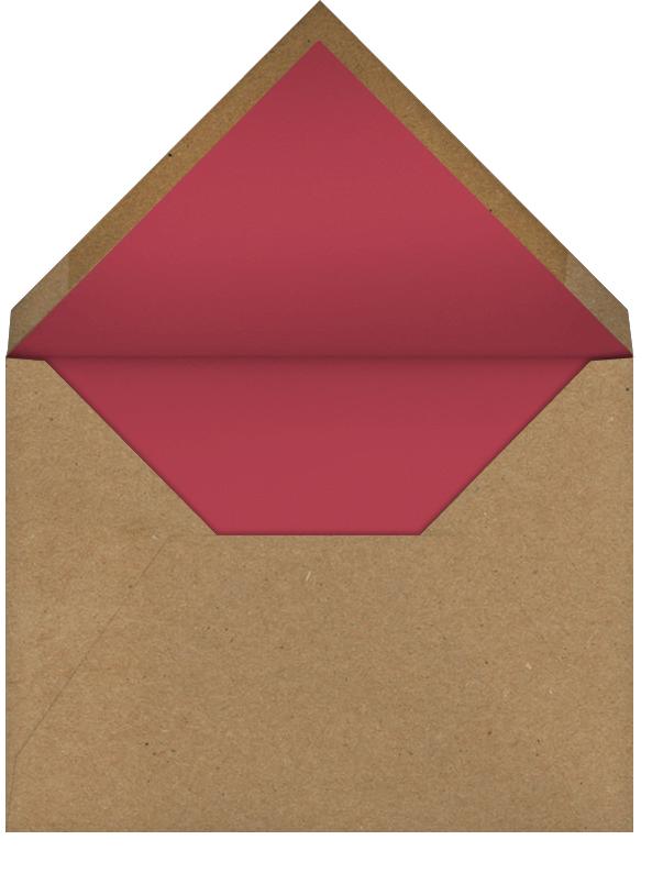 Yule Blooms Christmas (Square) - Paperless Post - Christmas - envelope back
