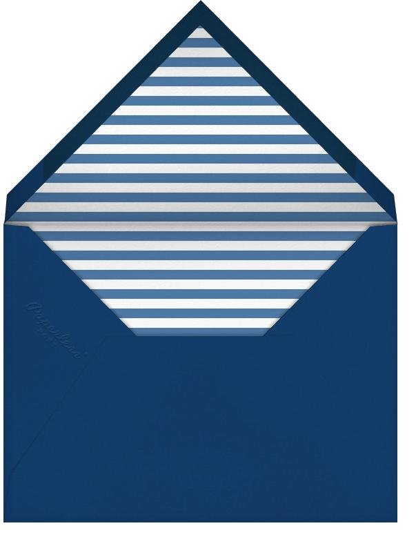 Calligram Dove - White - Paperless Post - Holiday cards - envelope back