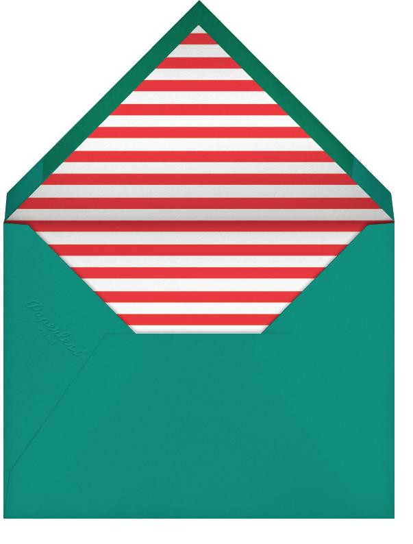 Jaunty Navidad - White - Paperless Post - Envelope