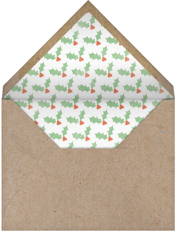 Annual Report (Multi-Photo) - Paperless Post - Envelope