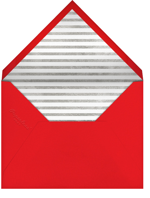 Red-Letter Holiday - Silver - Paperless Post - Holiday cards - envelope back