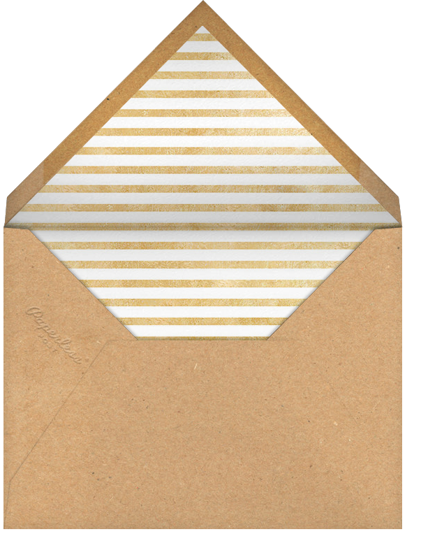 New Year Finestra (Horizontal) - White/Gold - Paperless Post - New Year - envelope back