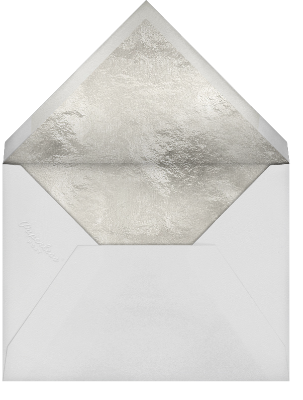 Lautaret (Invitation) - Silver - Paperless Post - All - envelope back