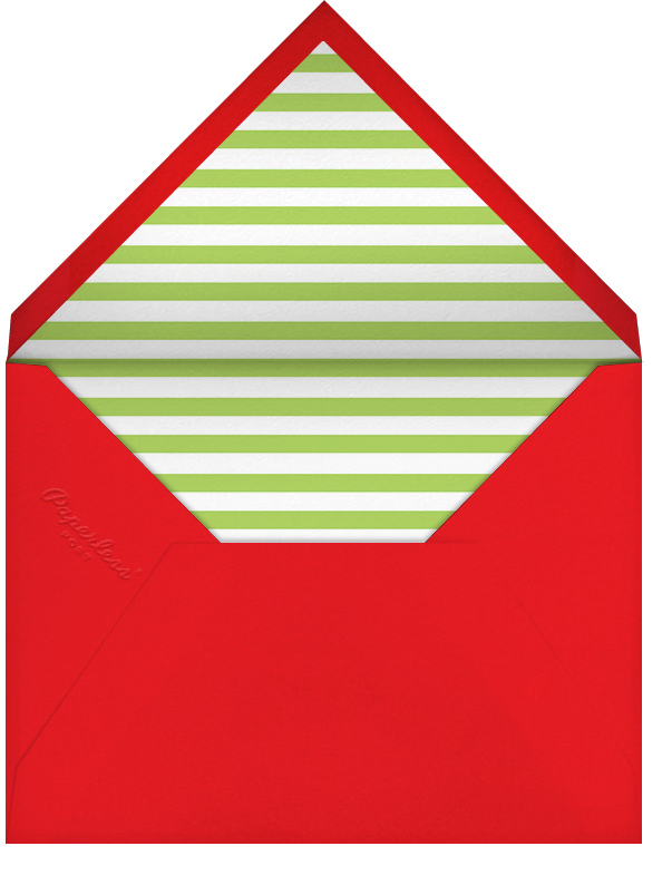 Two-Tone Holiday (Multi-Photo) - Paperless Post - Envelope