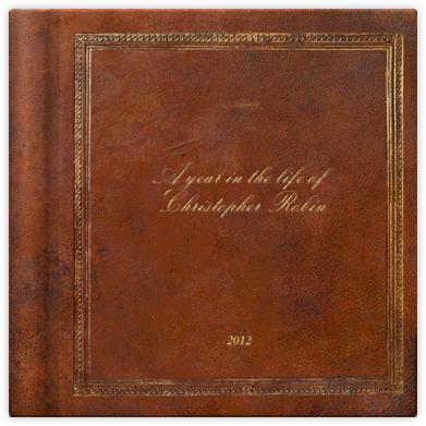 Classic Photo Album (Valrhona inserts) - Square - Paperless Post -