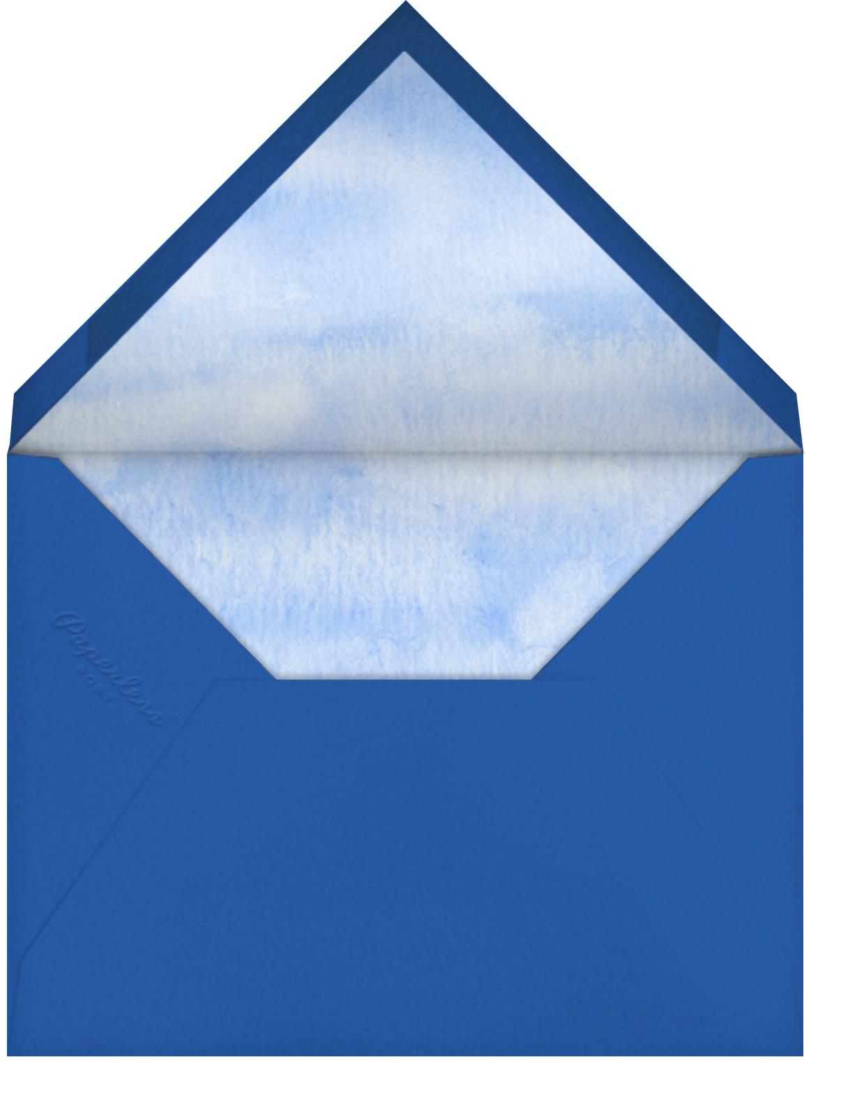 Cloud Castle - Paperless Post - Kids' birthday - envelope back
