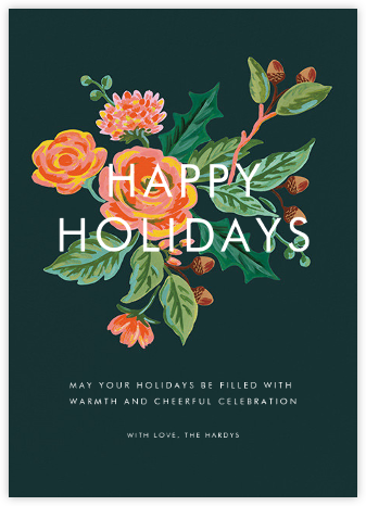 Jardin Noel (Holiday Greeting) - Rifle Paper Co. - Holiday Cards
