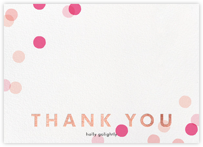 Carnaby Thanks - Pink/Rose Gold | horizontal