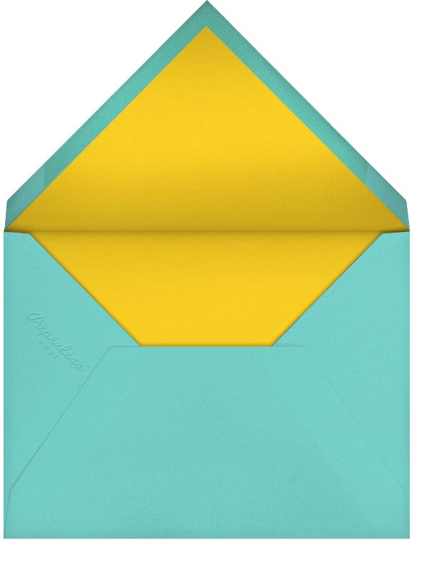 Carnaby Thanks - Multi/Gold - Paperless Post - Wedding - envelope back