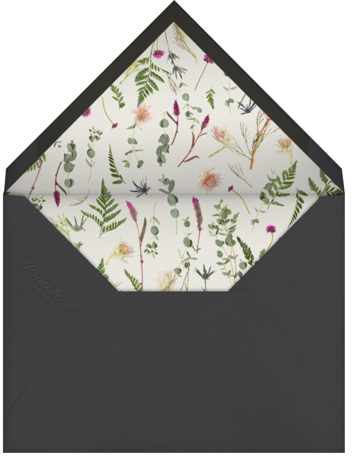 Fleurs Sauvages Thanks - Rose Gold - Paperless Post - General - envelope back