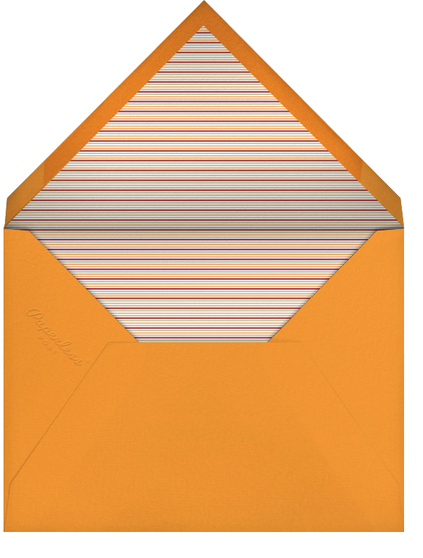 A Cornucopia of Awesome - Crate & Barrel - Thanksgiving - envelope back