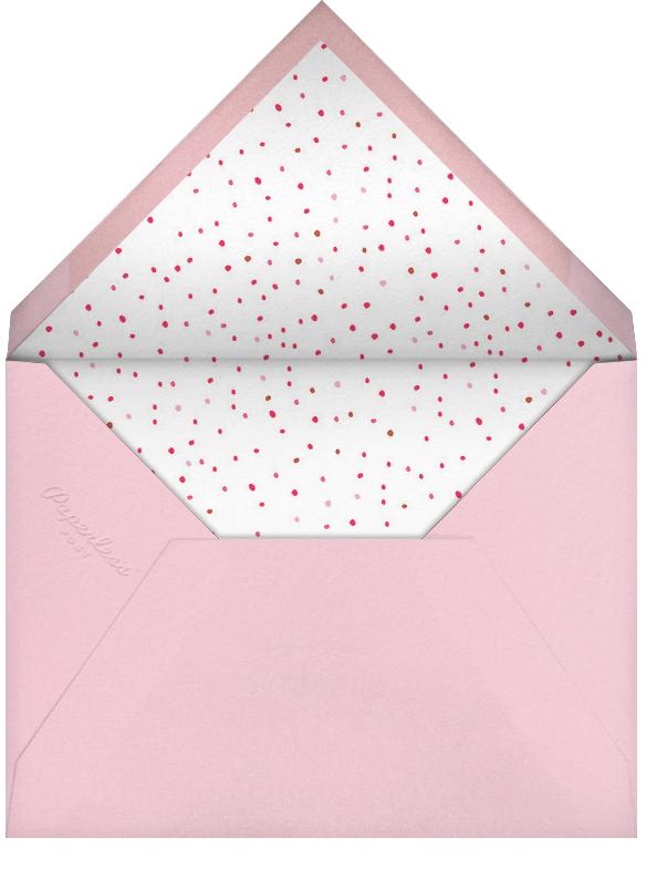 Blow Up the Balloons - Pink - Mr. Boddington's Studio - Baby shower - envelope back