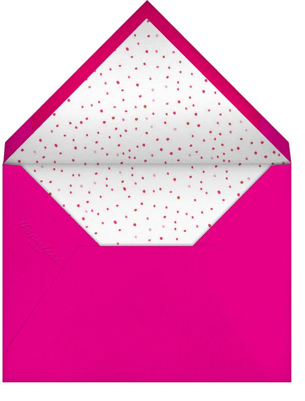Blow Up the Balloons - Pink - Mr. Boddington's Studio - Bat and bar mitzvah - envelope back