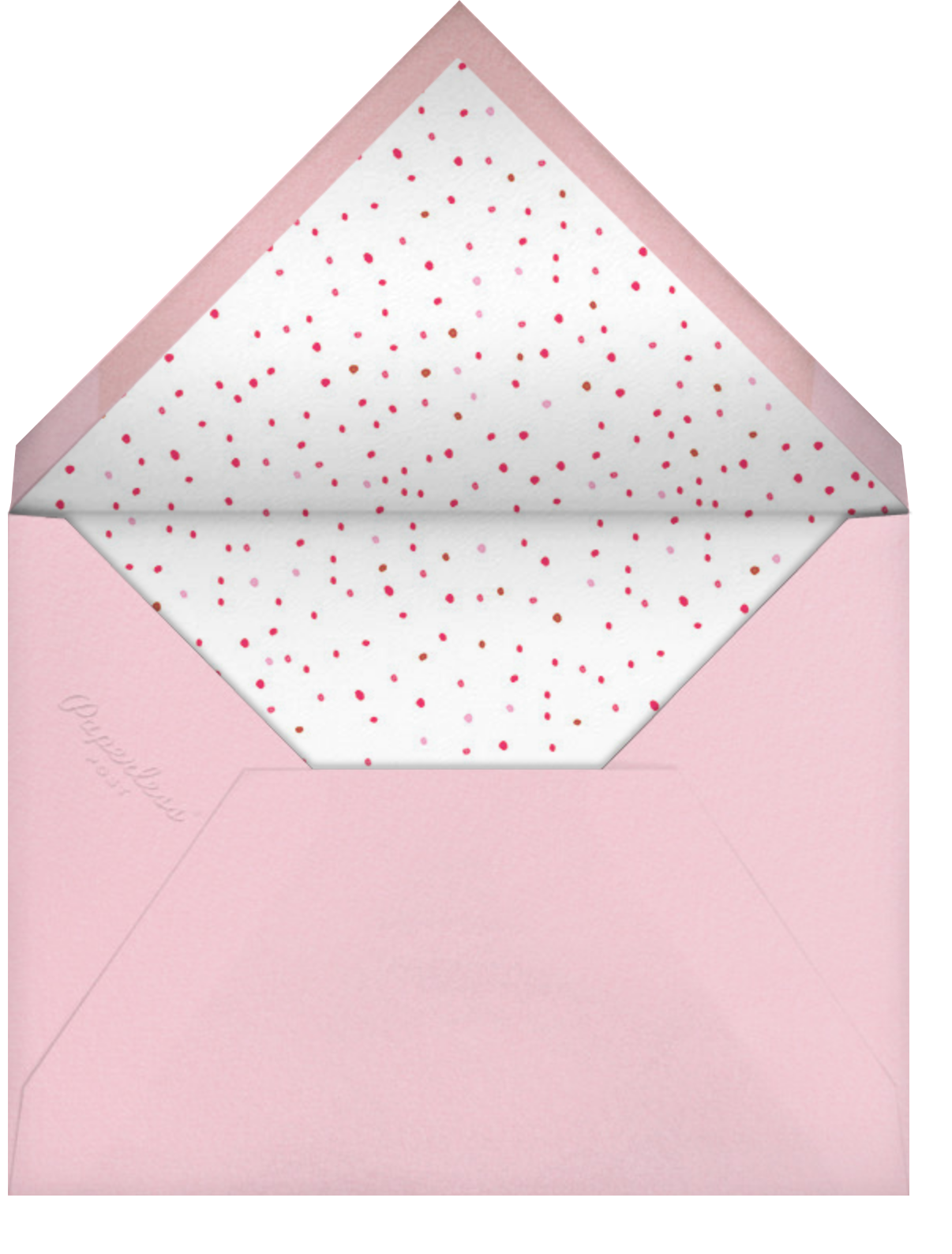 Blow Up the Balloons (Photo) - Pink - Mr. Boddington's Studio - Kids' birthday - envelope back