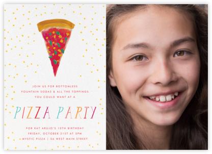 I Want the Biggest Piece (Photo) - Mr. Boddington's Studio - Online Kids' Birthday Invitations