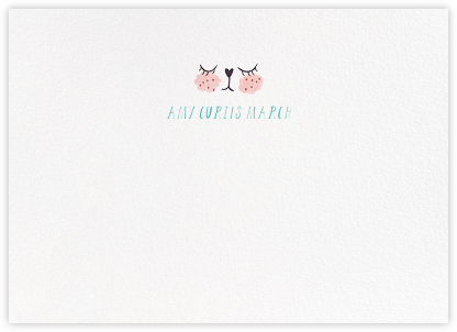 Meow (Stationery) - Mr. Boddington's Studio - Baby and kids' stationery