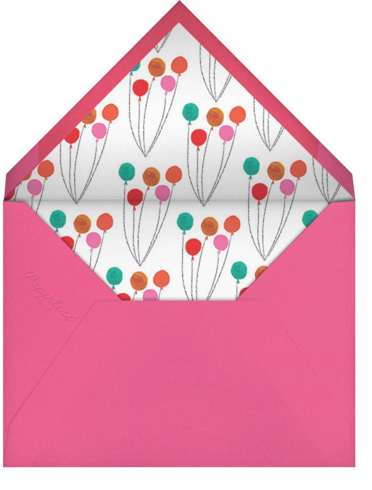 The Unicorn's Big Day - Mr. Boddington's Studio - Kids' birthday - envelope back