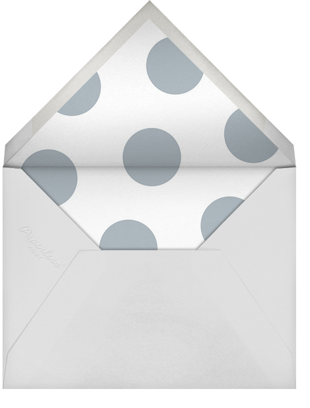 Oh Baby - Pacific - Sugar Paper - Baby shower - envelope back