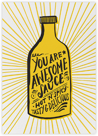 Awesome Sauce - Hello!Lucky - Online greeting cards